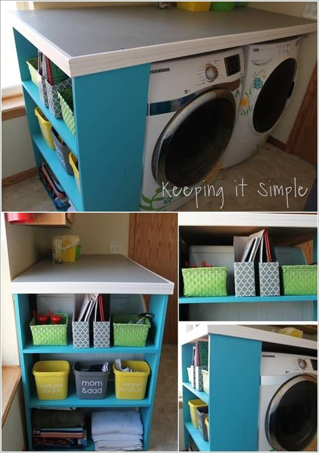 10 Practical DIY Projects for Laundry Room Organization 6