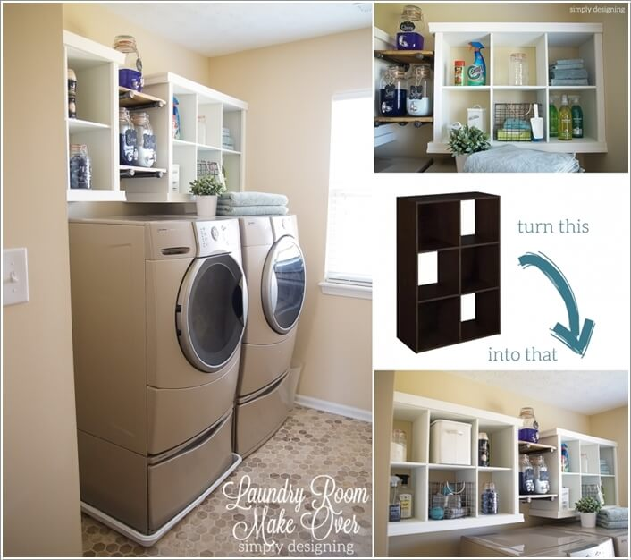 10 Practical DIY Projects For Laundry Room Organization 7