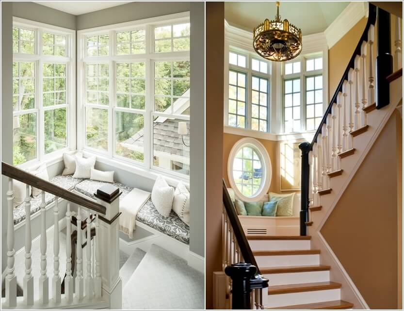 10 Ways to Decorate Your Home with Corner Benches 10