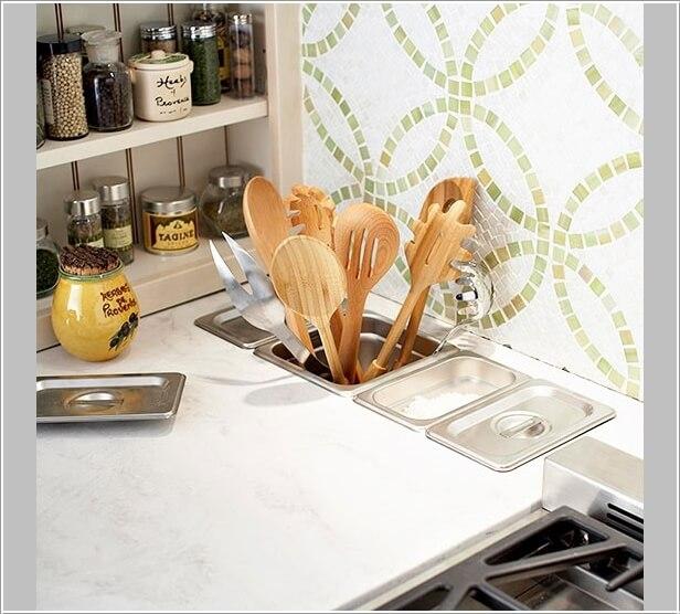 15 Practical Utensil Storage Ideas for Your Kitchen 11