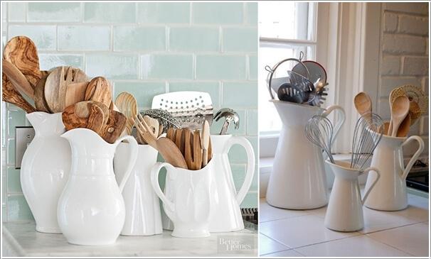 15 Practical Utensil Storage Ideas for Your Kitchen 7