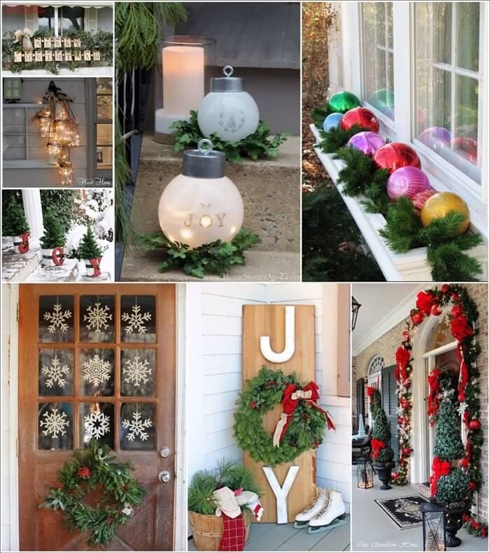 20 amazing outdoor christmas decoration ideas for Amazing christmas decorations