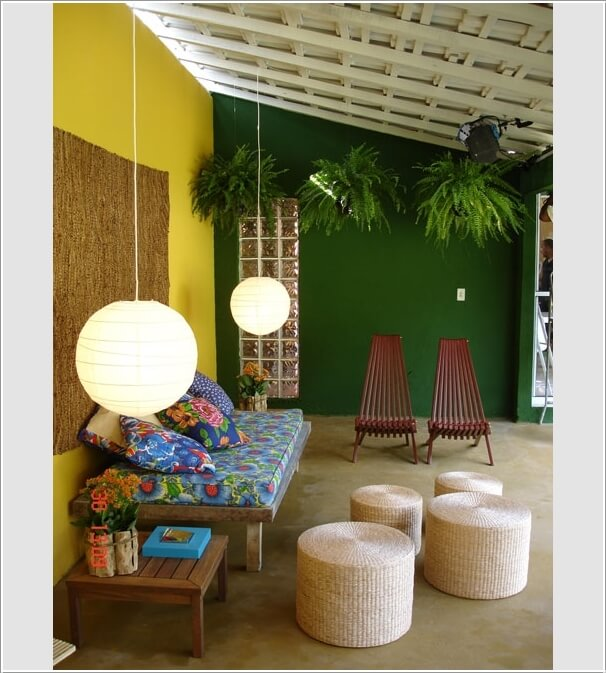 Add Color To Your Porch and Make It Cheerful 1