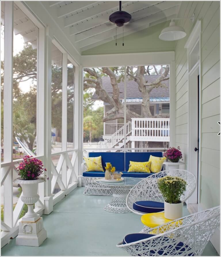Add Color To Your Porch and Make It Cheerful 2