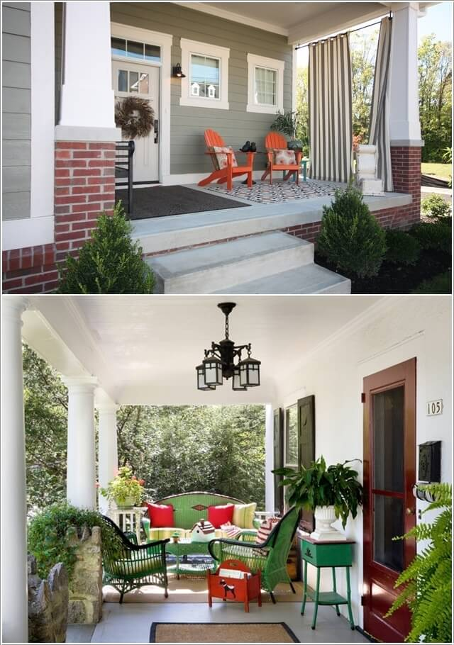 Add Color To Your Porch and Make It Cheerful 4