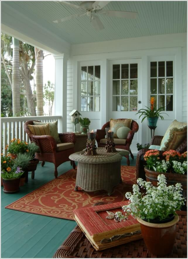 Add Color To Your Porch and Make It Cheerful 6