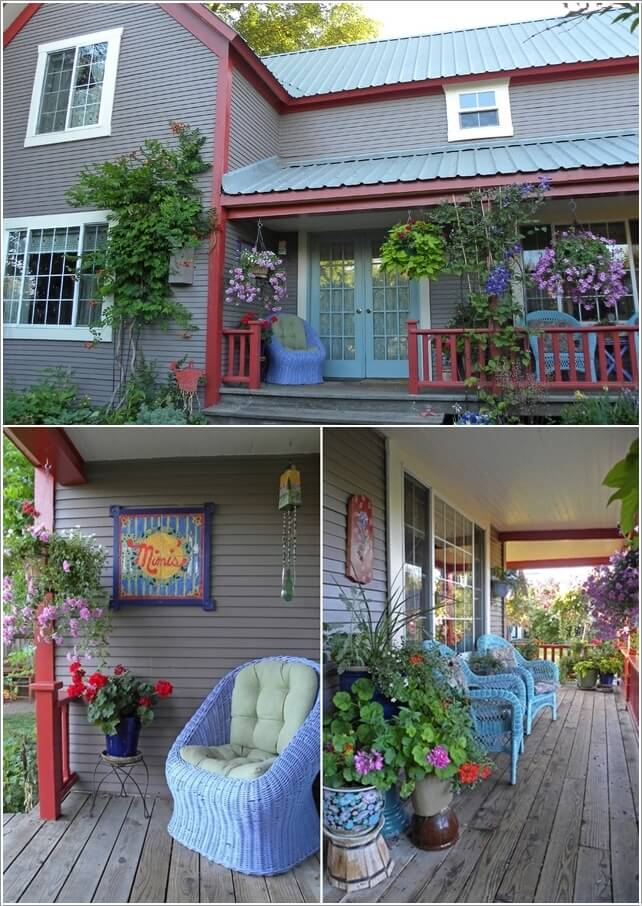 Add Color To Your Porch and Make It Cheerful 7