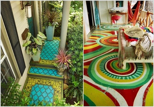 Add Color To Your Porch and Make It Cheerful 10