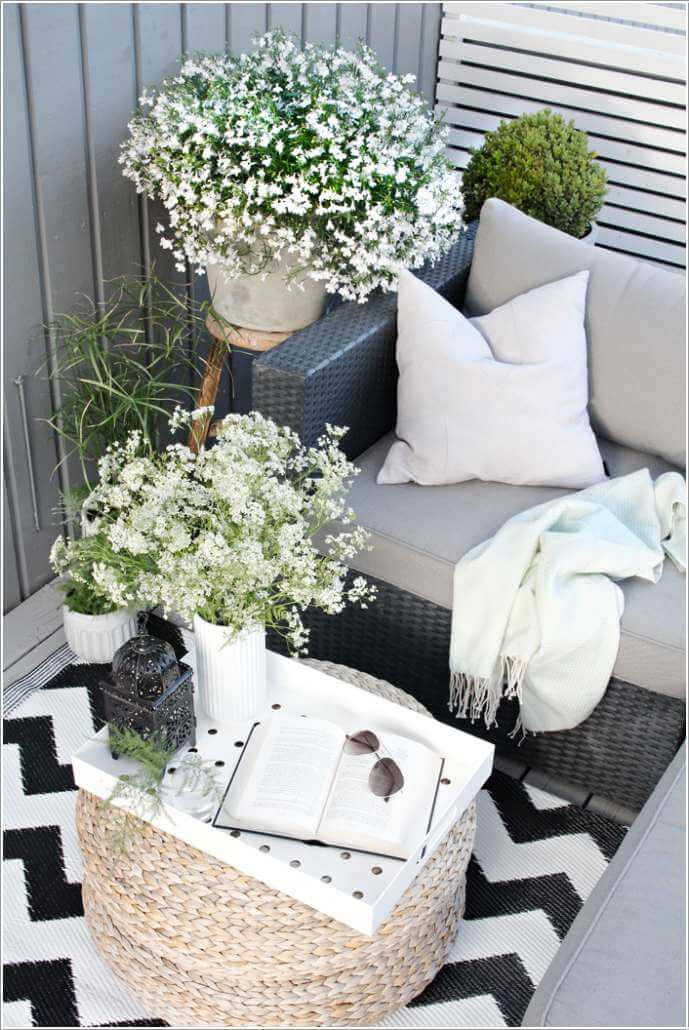 Add Spice to Your Balcony with a Cool Table 2