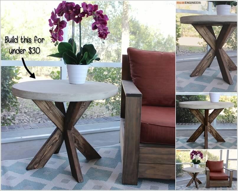 Add Spice to Your Balcony with a Cool Table 14