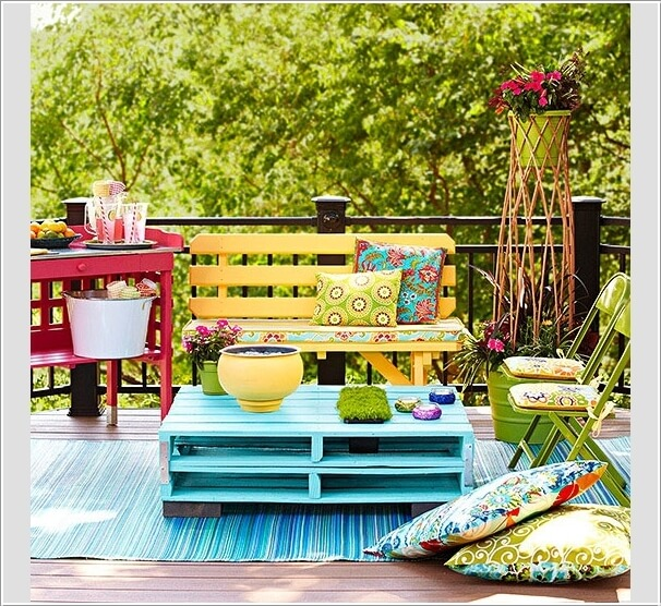 Add Spice to Your Balcony with a Cool Table 3