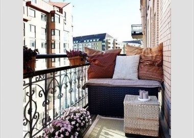Add Spice to Your Balcony with a Cool Table 8