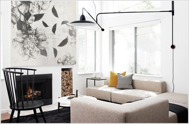 Choose A Chic Lighting Fixture for Your Living Room 9