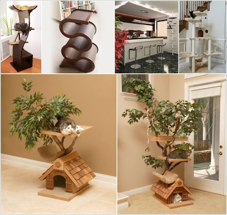 Cool Cat Tree Furniture Designs Your Cat Will Love a