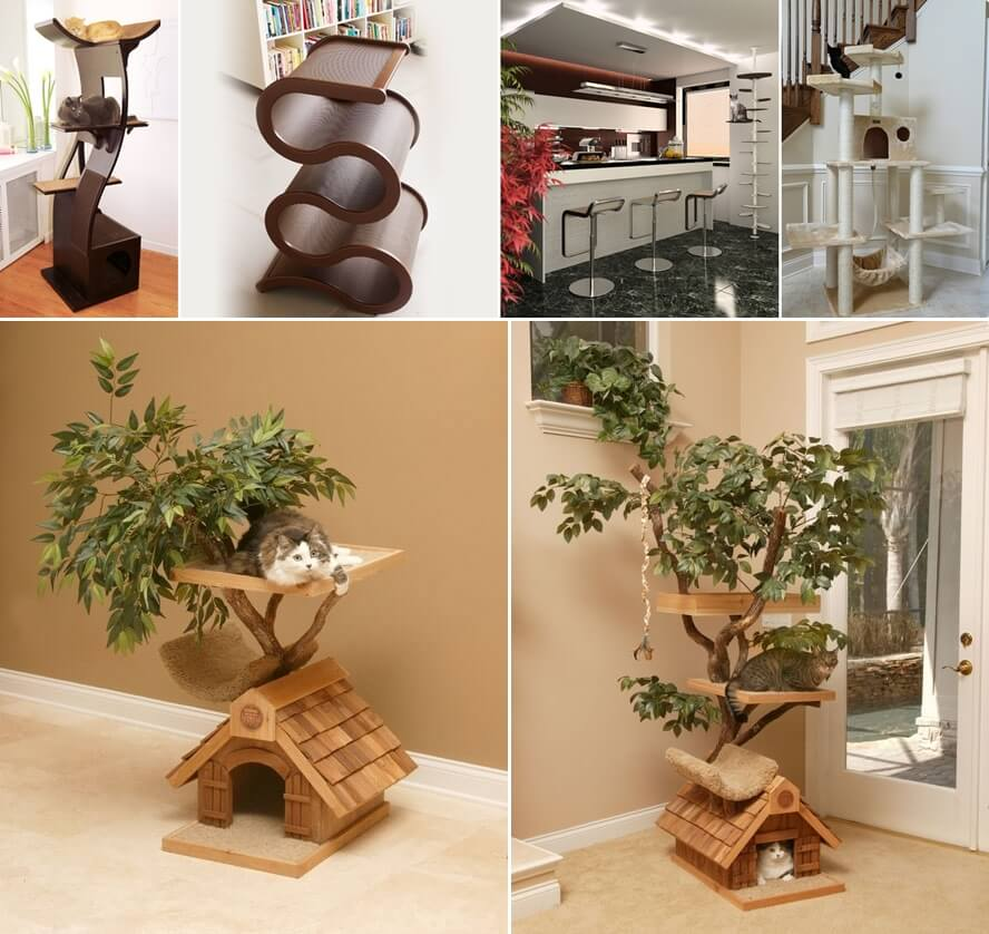 33 Amazing Ideas That Will Make Your House Awesome: Cool Cat Tree Furniture Designs Your Cat Will Love