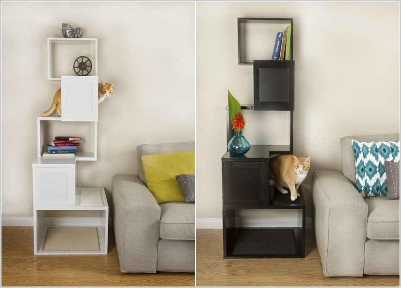 Cool Cat Tree Furniture Designs Your Cat Will Love 3