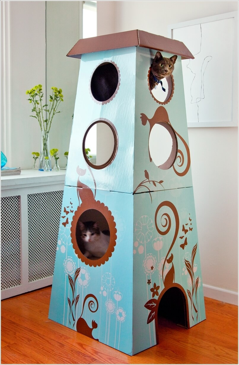 Cool Cat Tree Furniture Designs Your Cat Will Love 4