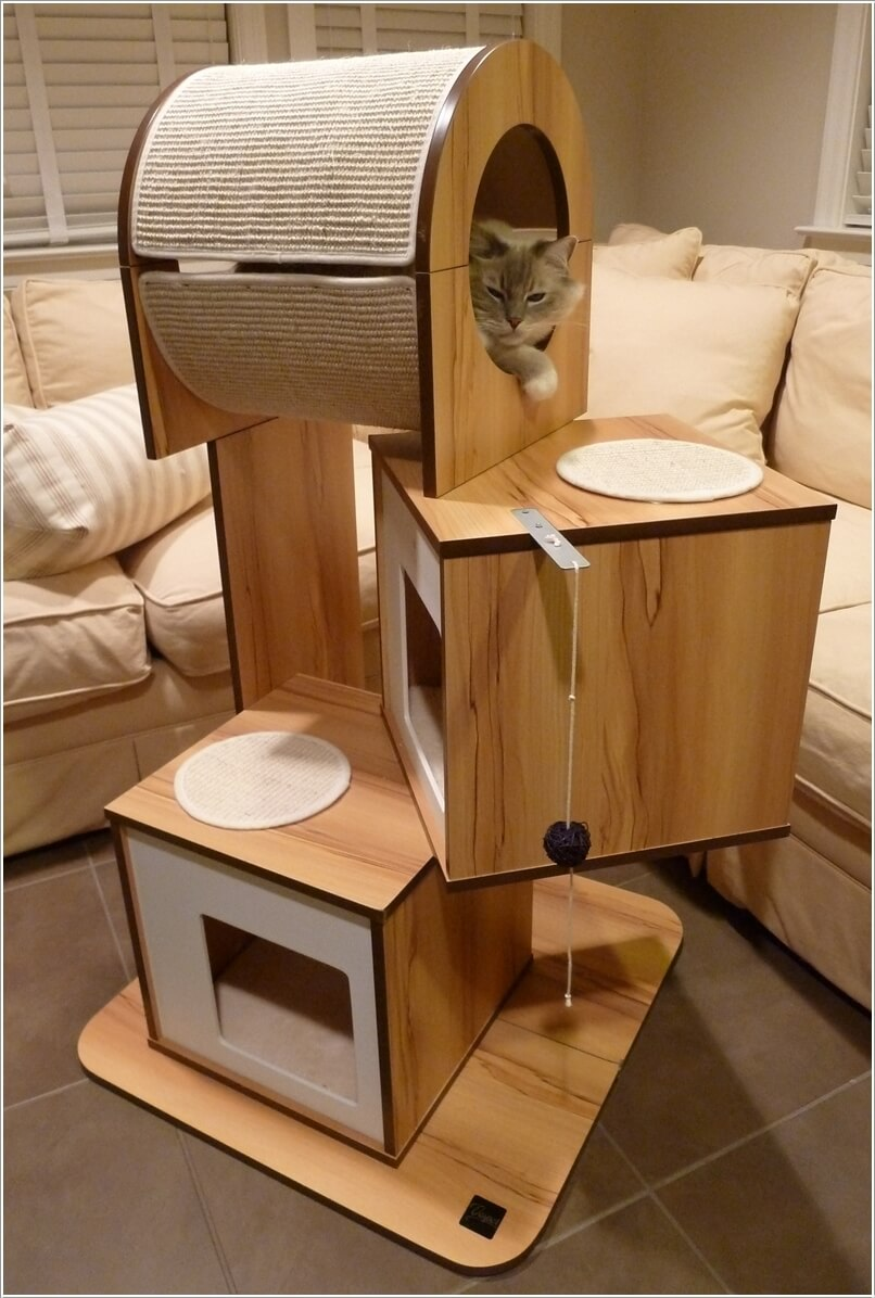 Cool Cat Tree Furniture Designs Your Cat Will Love 8