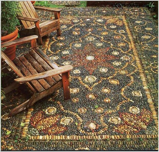 Decorate Your Home's Outdoor with Pebbles 1