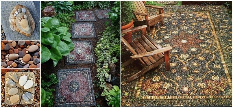 Decorate Your Home's Outdoor with Pebbles a