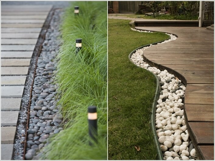 Decorate Your Home's Outdoor with Pebbles 7