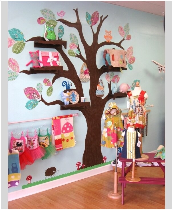 Decorate Your Kids\' Playroom Wall with a Creative Idea