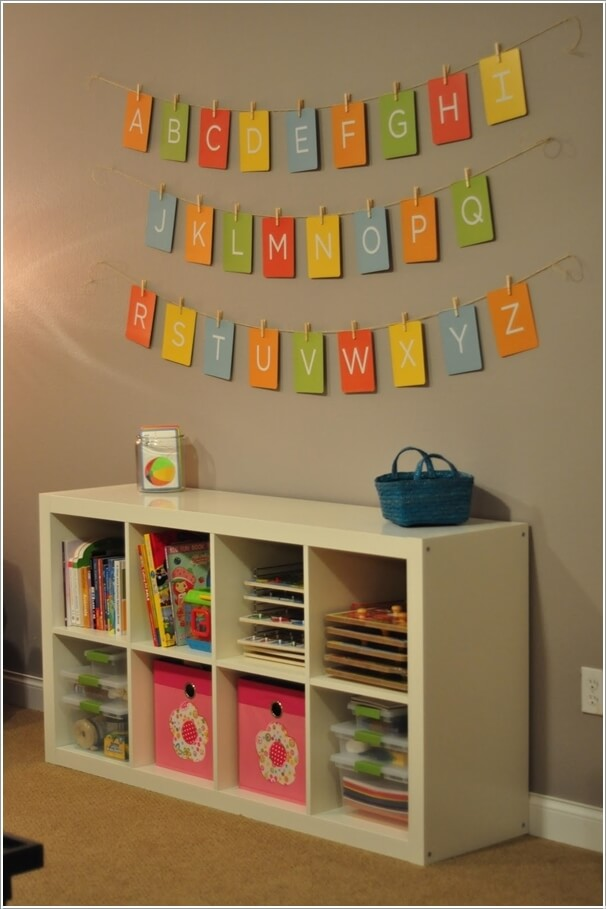 Imgs for playroom wall decor ideas - How to decorate kids playroom ...