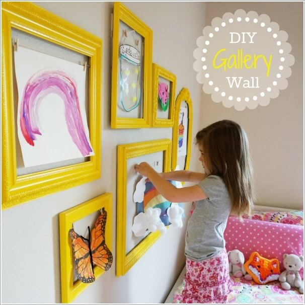 27 Stylish Ways To Decorate Your Children S Bedroom: Decorate Your Kids' Playroom Wall With A Creative Idea