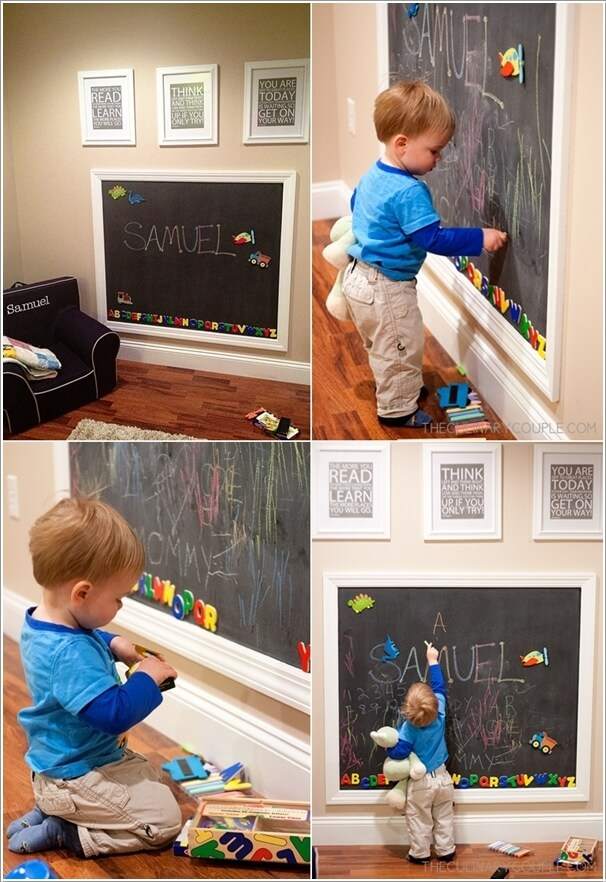 Decorate Your Kids' Playroom Wall with a Creative Idea 6