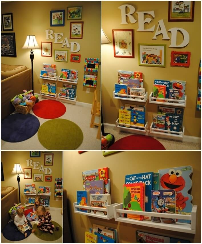 Clever And Creative Ideas For The Ultimate Playroom: Decorate Your Kids' Playroom Wall With A Creative Idea