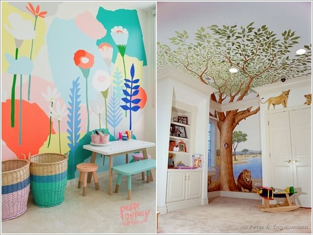 Decorate Your Kidsu0027 Playroom Wall With A Creative Idea 9 Part 15