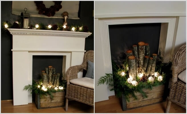 How About Making Log Christmas Decorations 11