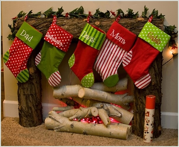 How About Making Log Christmas Decorations 13
