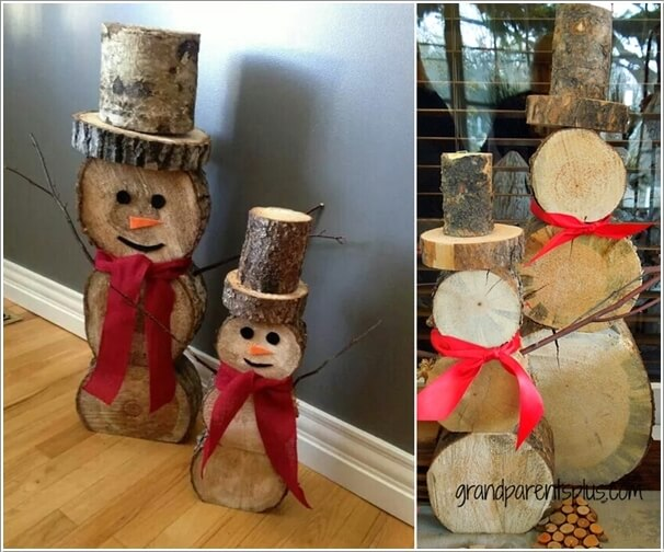 How About Making Log Christmas Decorations 3