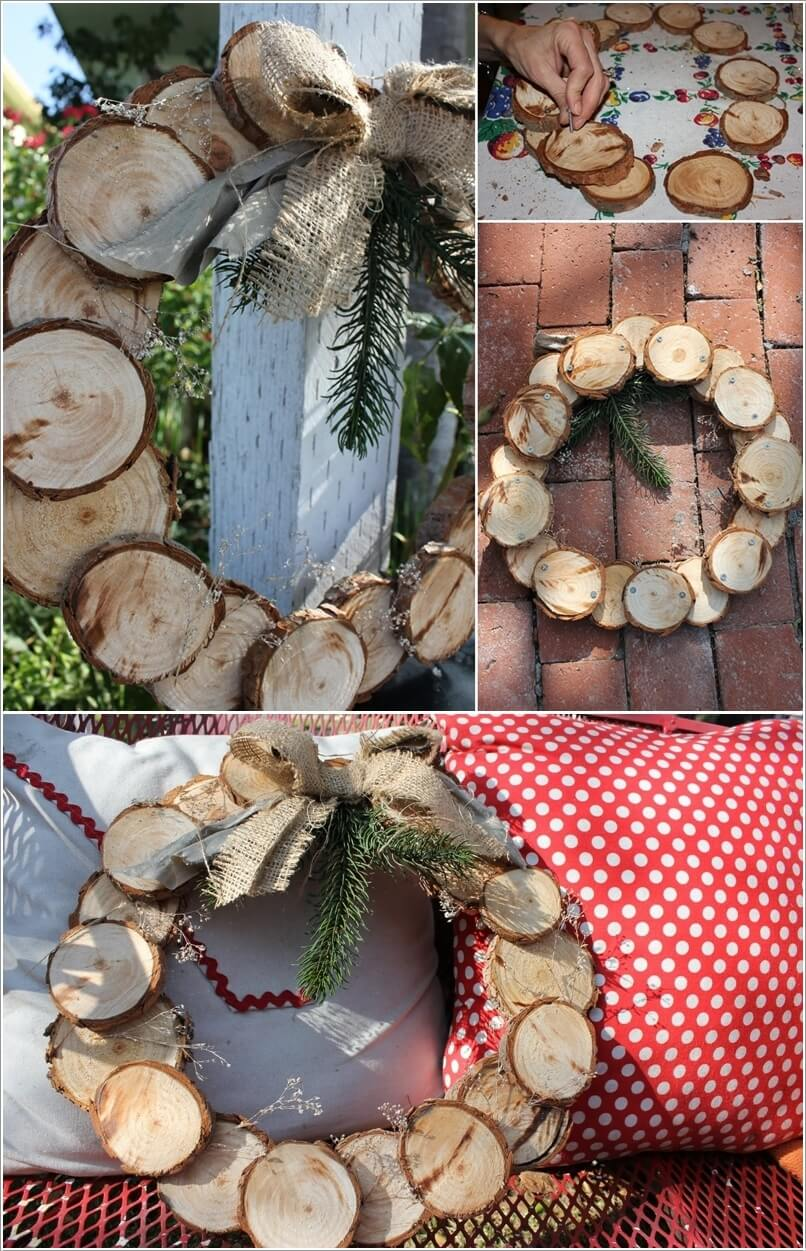 How About Making Log Christmas Decorations 6