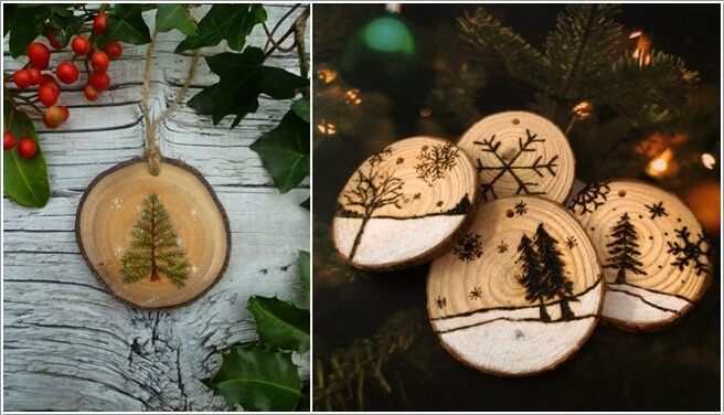 How About Making Log Christmas Decorations