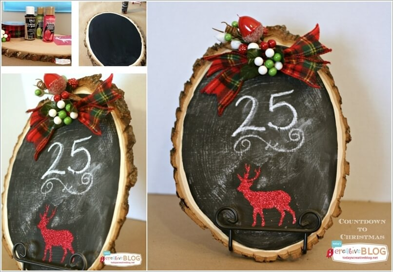 How About Making Log Christmas Decorations 9