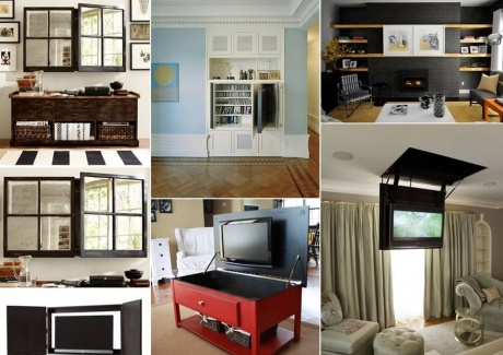 Amazing interior design interior design ideas by pictures for Hide tv in living room