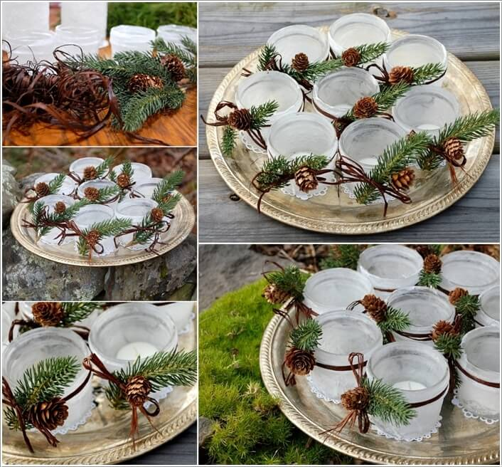 How To Make Decor Projects with Mini Pine Cones 1