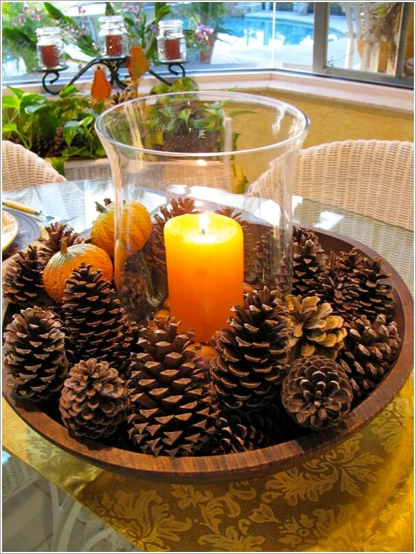 How To Make Decor Projects with Mini Pine Cones 3
