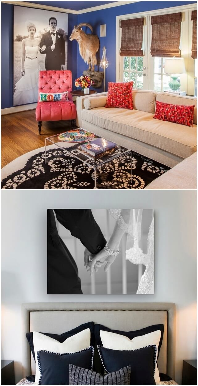 How To Use Photos on Canvas to Create a Contemporary Interior Feel and Regulate Mood 2