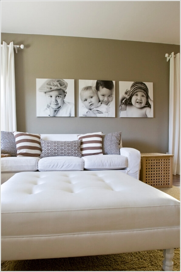 How To Use Photos on Canvas to Create a Contemporary Interior Feel and Regulate Mood 3