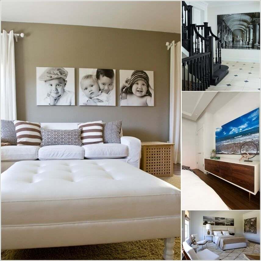 How To Use Photos on Canvas to Create a Contemporary Interior Feel and Regulate Mood a