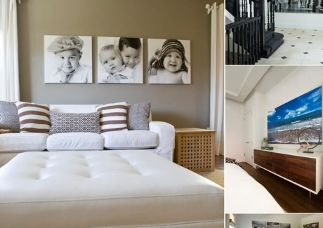 How To Use Photos on Canvas to Create a Contemporary Interior Feel and Regulate Mood fi
