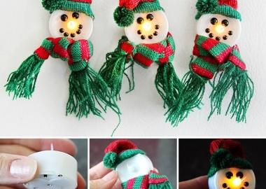 Make These Adorable Magnetic Snowmen fi