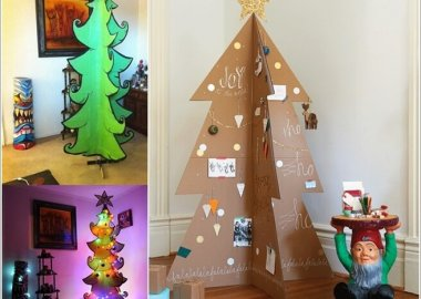 Materials You Can Use for Making an Alternate Christmas Tree 11