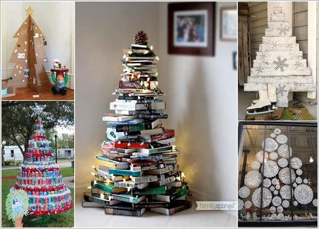 Materials You Can Use for Making an Alternate Christmas Tree a