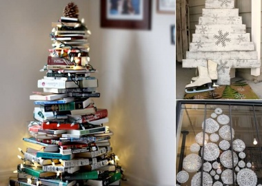 Materials You Can Use for Making an Alternate Christmas Tree fi