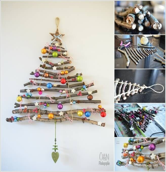 Materials You Can Use for Making an Alternate Christmas Tree 6