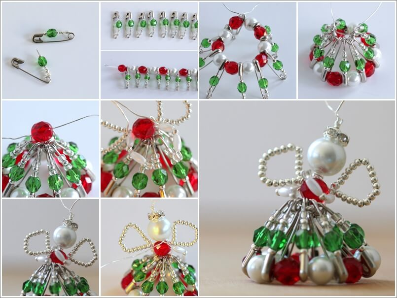 This Beaded Christmas Angel is Just Stunning 1